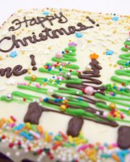 Christmas Customised Brownie