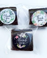 Thank You Brownies (2 inch square)