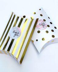 Glitter & Gold Brownies